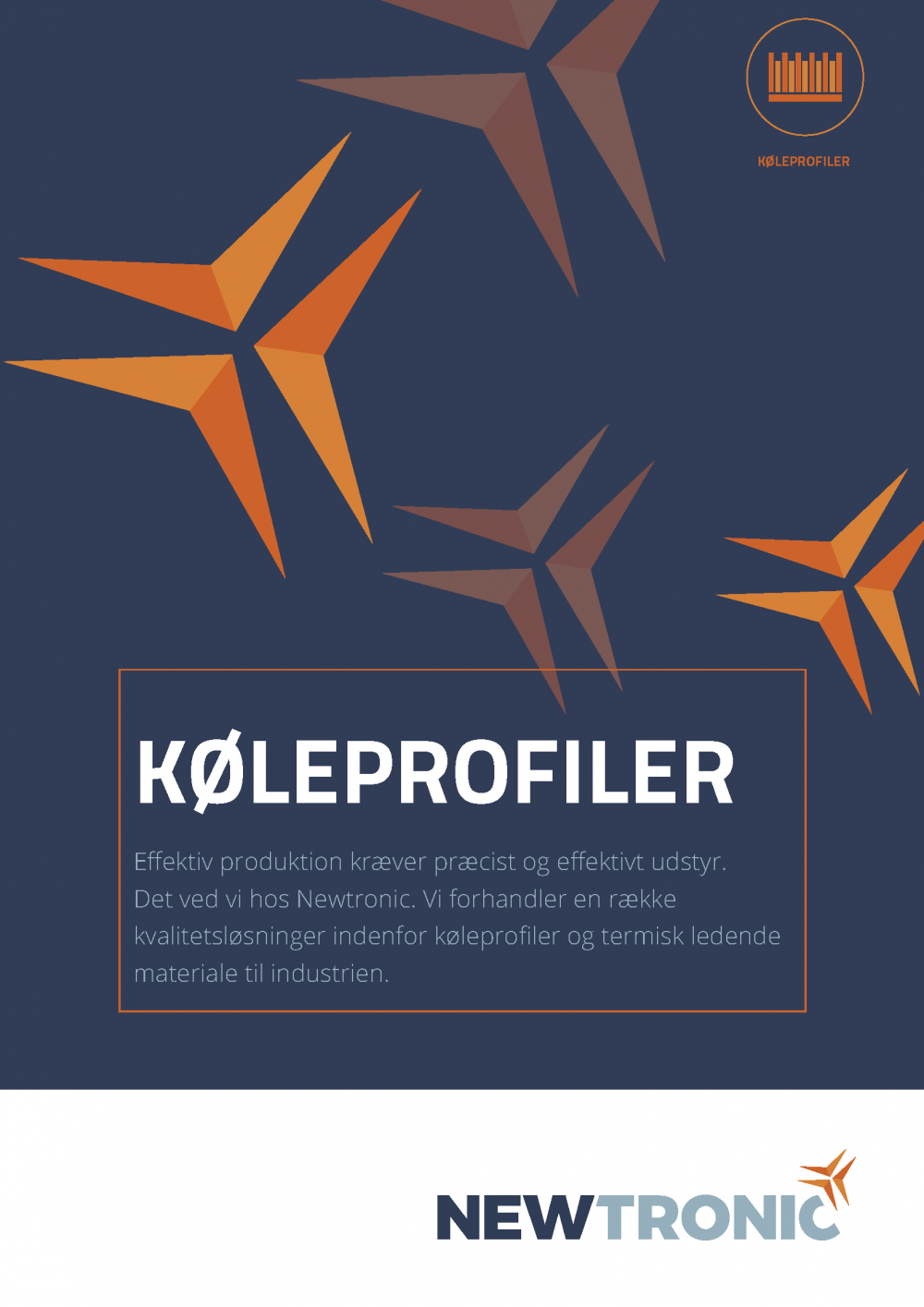 Køleprofiler Newtronic brochure